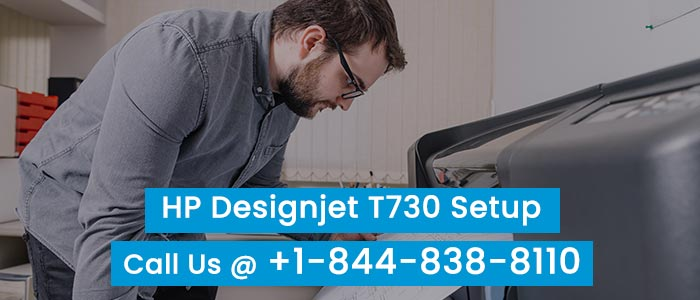 How To Setup and Install HP DesignJet T730 Printer?