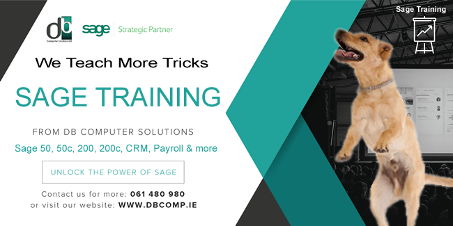 SAGE TRAINING FROM DB COMPUTER SOLUTIONS