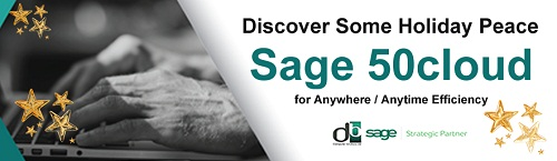 This Holiday Season,Discover Some Peace with SAGE50C FROM DB COMPUTER SOLUTIONS image