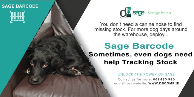 SAGE BARCODE FROM DB COMPUTER SOLUTIONS