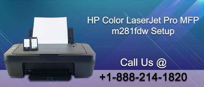 How to Setup HP Color LaserJet Pro mfp m281 Printer?