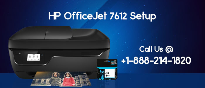 How to complete HP OfficeJet 7612 Printer setup for Mac