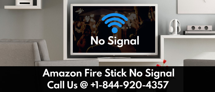 Amazon Fire Stick no signal error