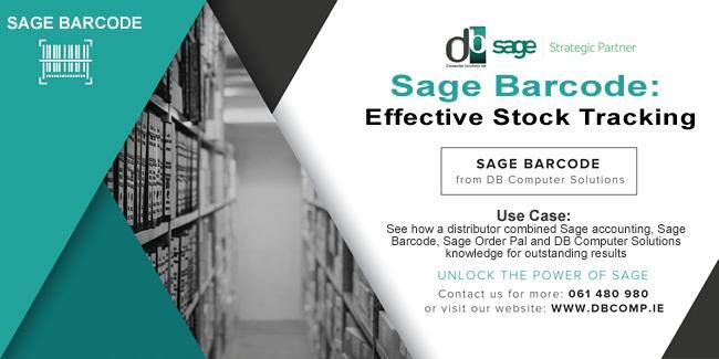 Sage Barcode By dbcomp