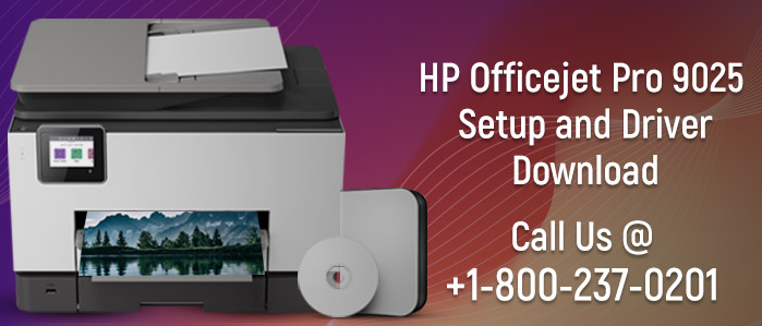 Install the printer software HP OfficeJet Pro 9025