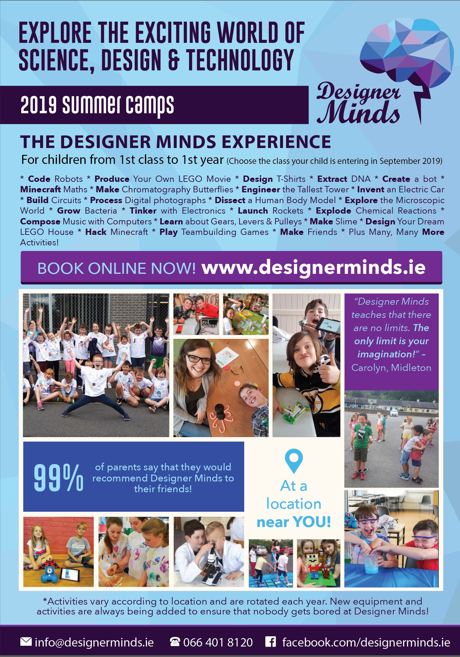 Science, Design & Technology Summer Camps for Kids in Co. Dublin image 2