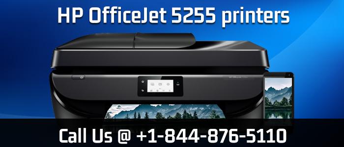 123.hp.com/setup 5255 | HP OfficeJet 5255 Wireless Printer Setup image 1