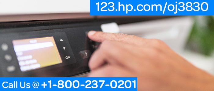 HP Officejet 3830 Setup Printer & Installation image 1