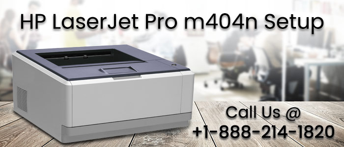HP LaserJet Pro m404n Printer Setup and installtion