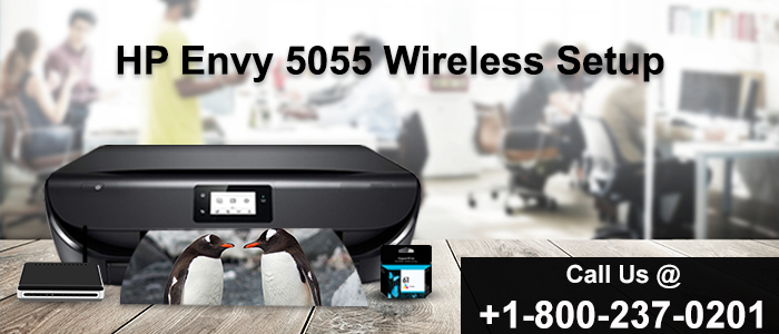 How to connect My HP Envy 5055 printer to Wi-Fi?