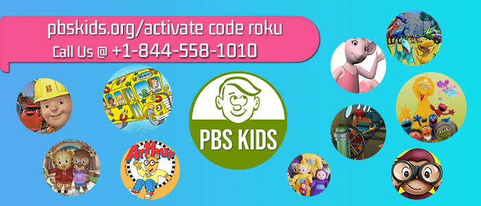 Activate PBS Kids Channel on Roku