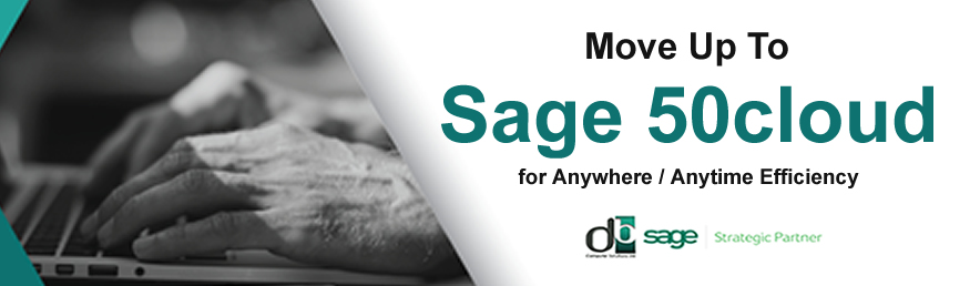 Sage 50c from DB Computer Solutions Part of our Spring Specials
