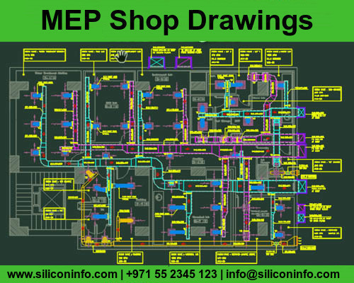 MEP Shop Drawing Services in Dubai | Siliconinfo