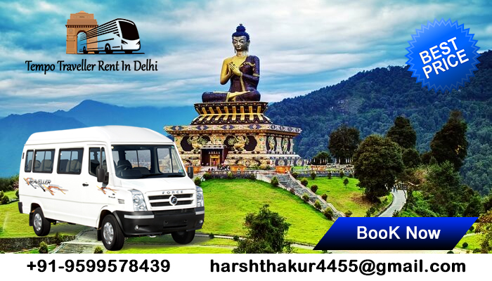 Tempo Traveller Rent in Delhi | Tempo Traveller Hire Delhi