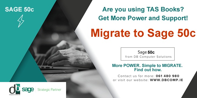 Migrate to SAGE 50C FROM DB COMPUTER SOLUTIONS