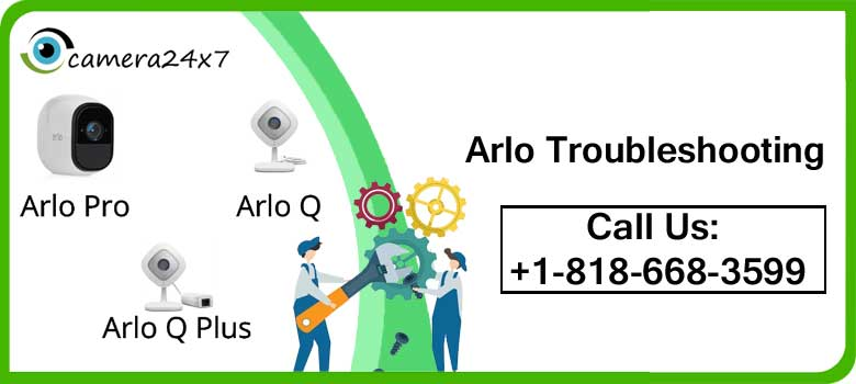 How to execute Arlo troubleshooting process image 1