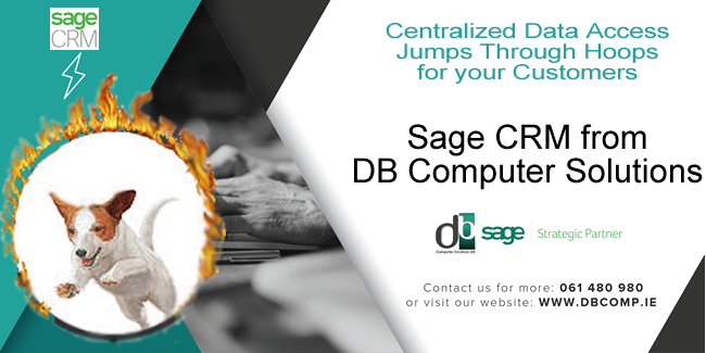 SAGE CRM FROM DB COMPUTER SOLUTIONS