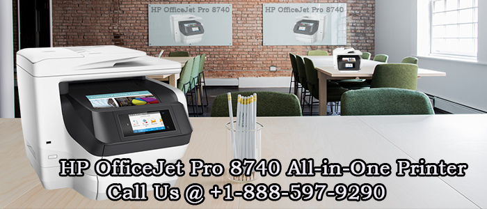 HP OfficeJet Pro 8740 All In One Printer    123.hp.com/oj8740