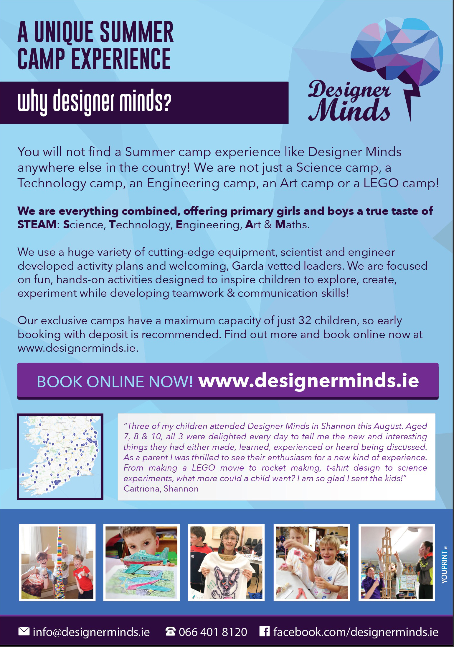 Science, Design & Technology Summer Camps for Kids in Co. Dublin image 3