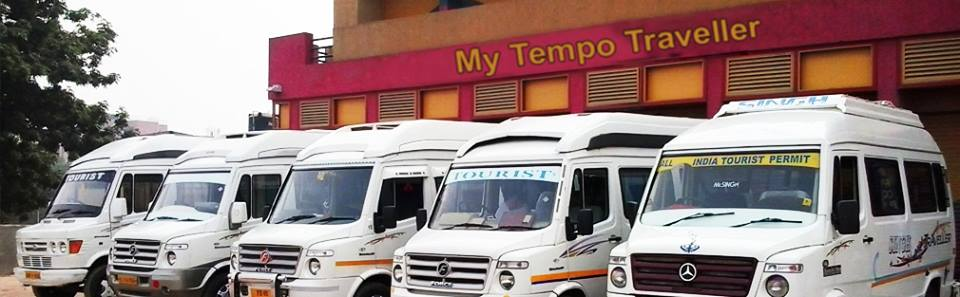Tempo Traveller Hire in Delhi @ Rs.15 Per km