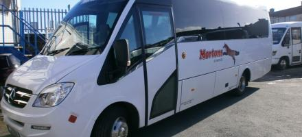 Mini buses for hire in Dublin - Mortons Coaches Ltd