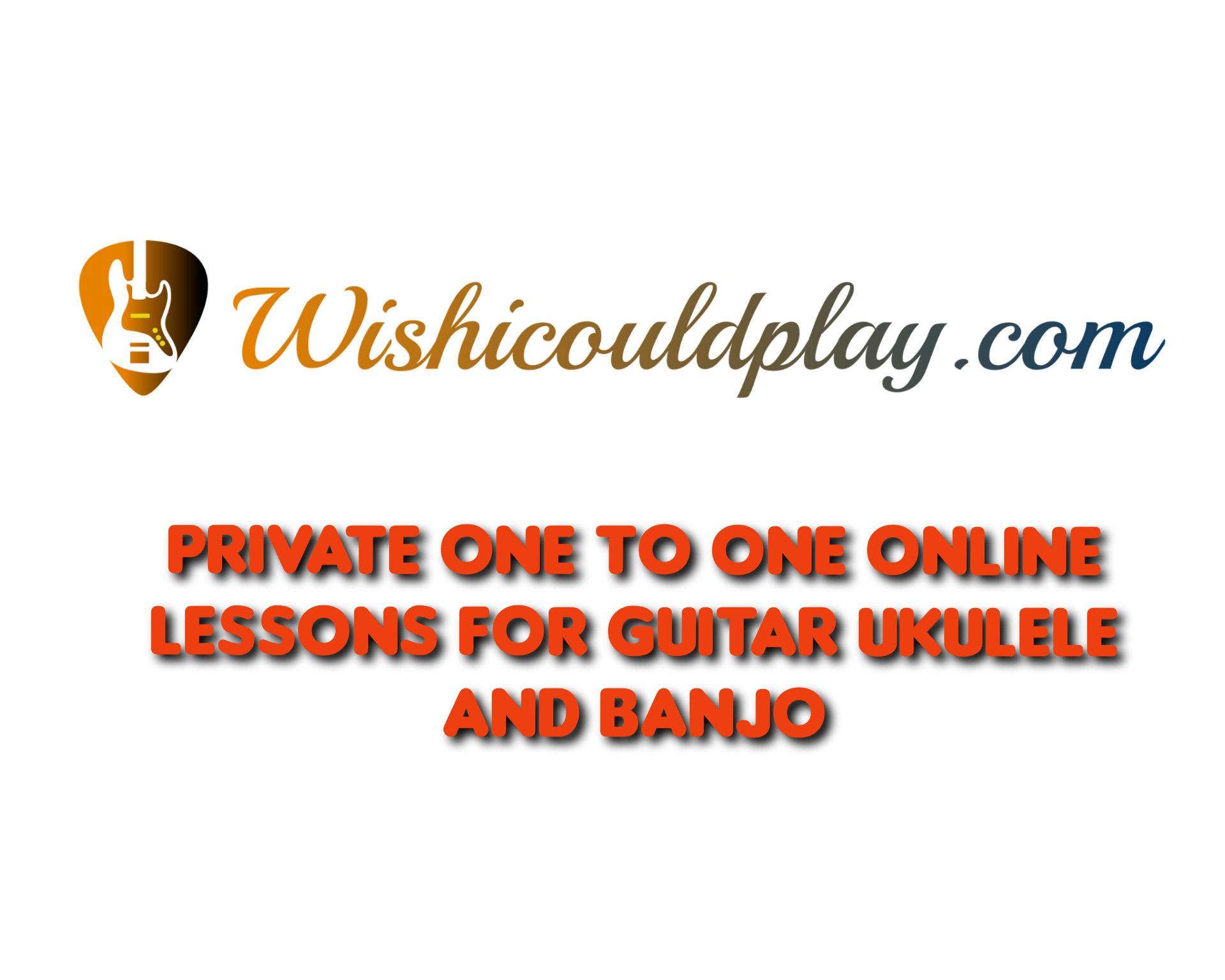 Guitar ukulele and banjo lessons image 1