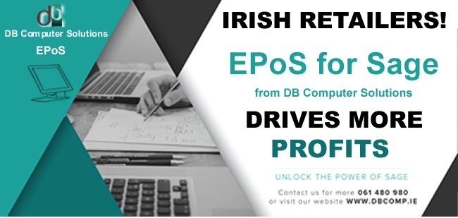 Drive Profits with EPOS FOR SAGE FROM DB COMPUTER SOLUTIONS