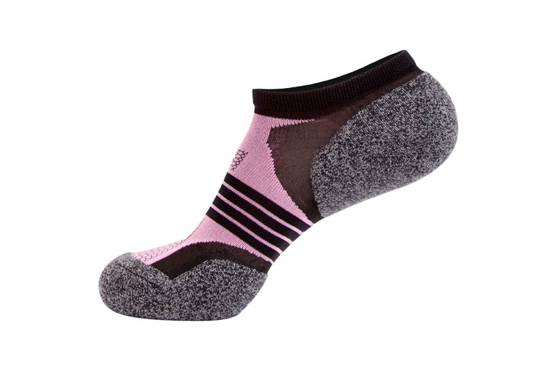 Striped Breathable Anti Blister Outdoor Long running Socks