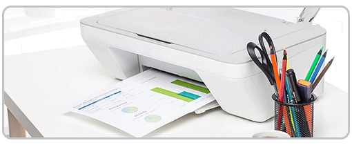 HP printer setup process