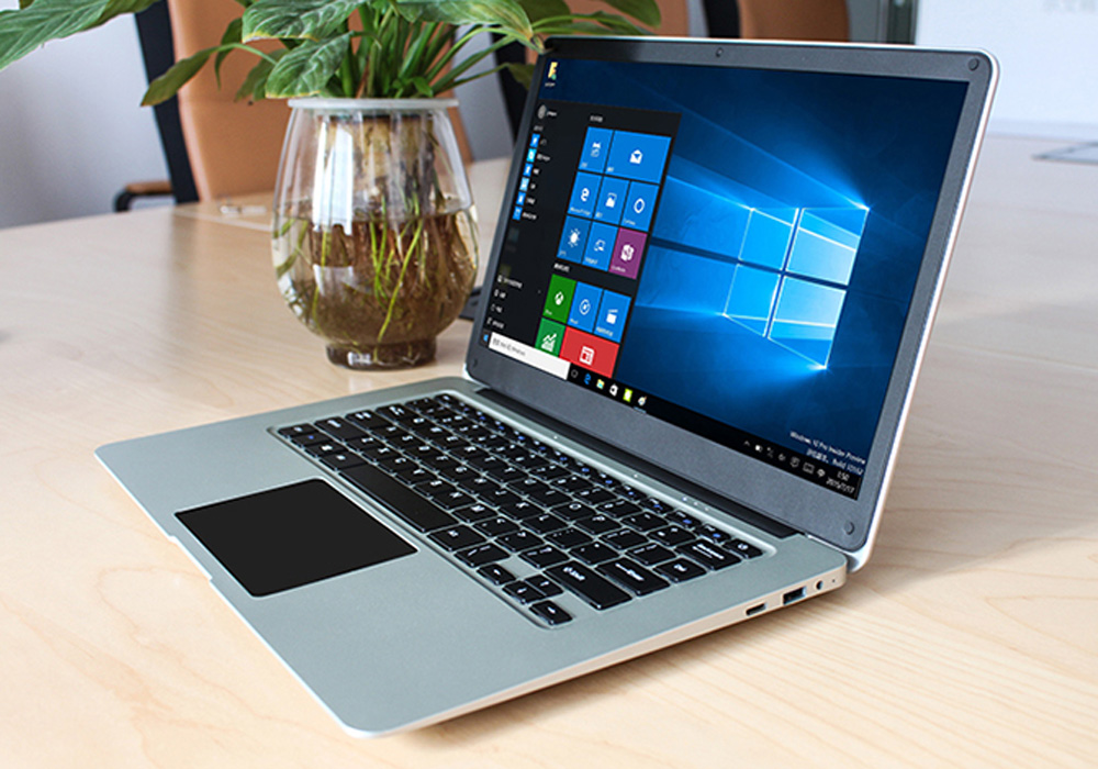 Windows 10 Laptop – Apollo Lake CPU, 14.1-Inch Full-HD Display