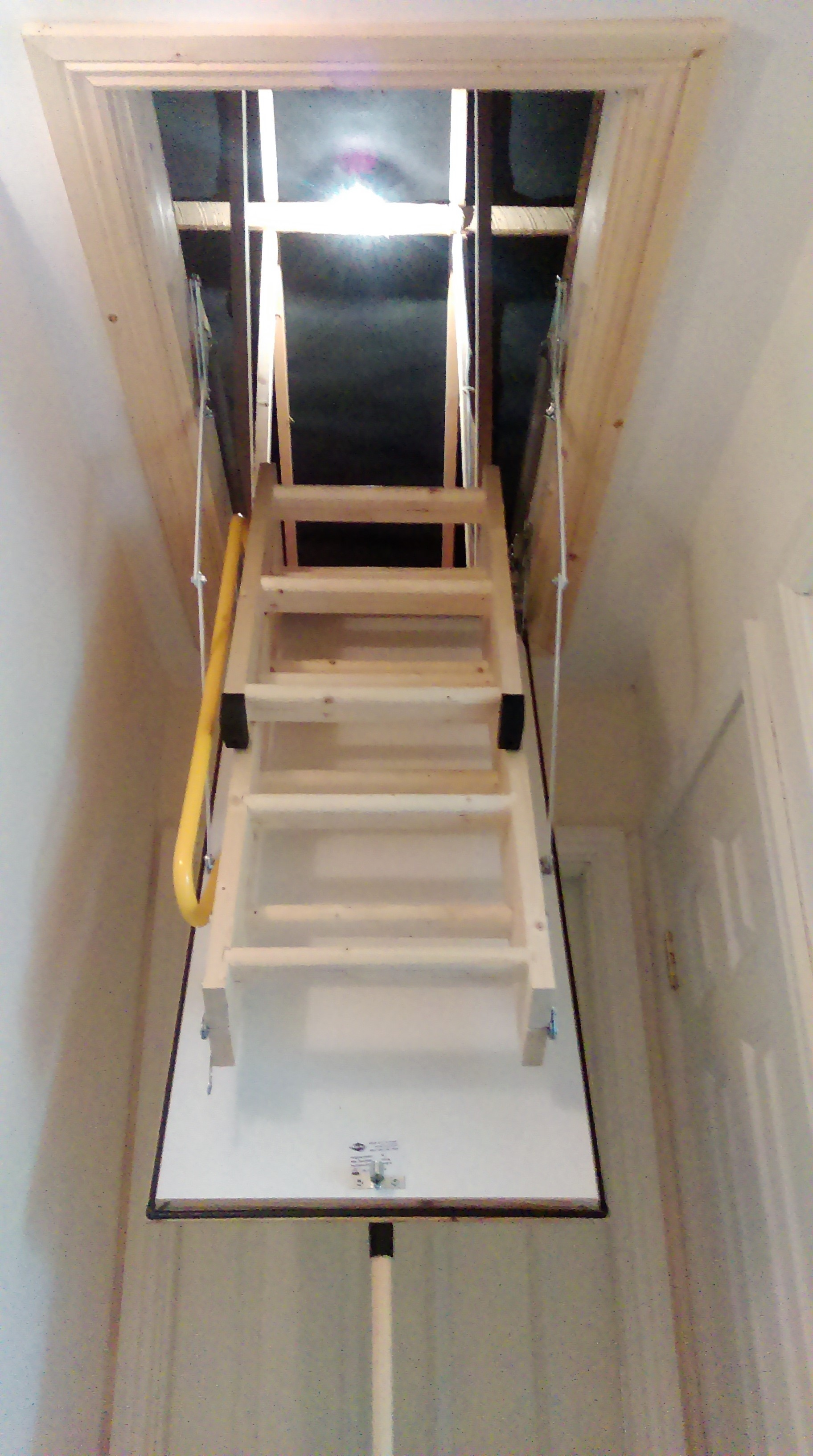 Loft ladder supplied & fitted image 1