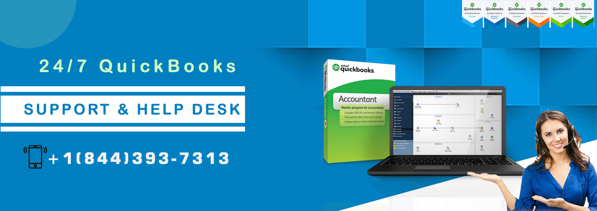 QuickBooks customer support- Active 24/7 to help you use QB with perfection