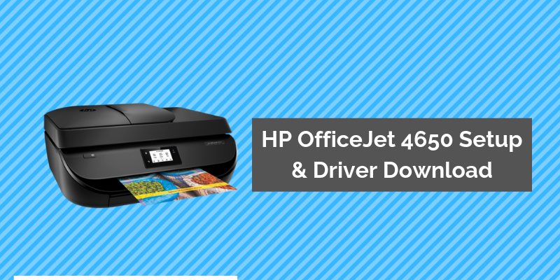 HP OfficeJet 4650 Printer Setup image 1