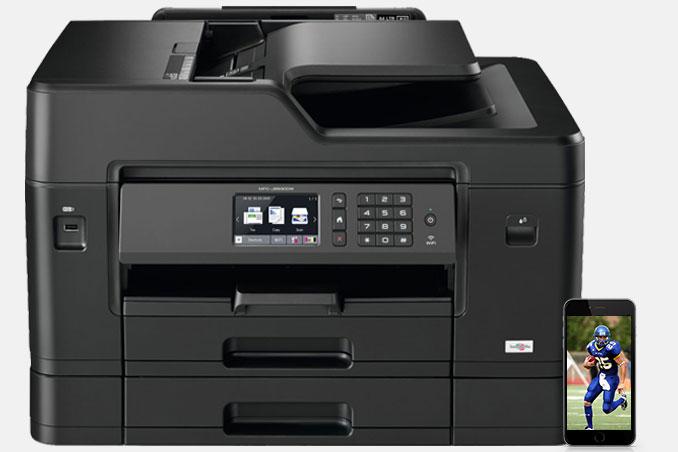 Brother printer MFC-J995DW Printing speed