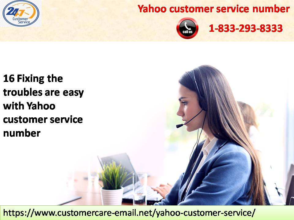 Yahoo customer service number 1-833-293-8333 makes sure quick tech support to the users