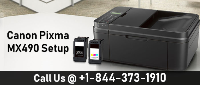 Canon MX490 Printer Setup Guide