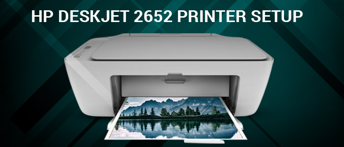 123.hp.com DeskJet 2652 First Time Printer Setup