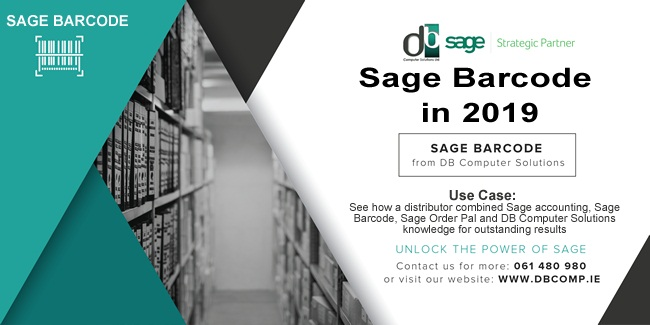 SAGE BARCODE FROM DB COMPUTER SOLUTIONS & INTEGRATED SYSTEMS