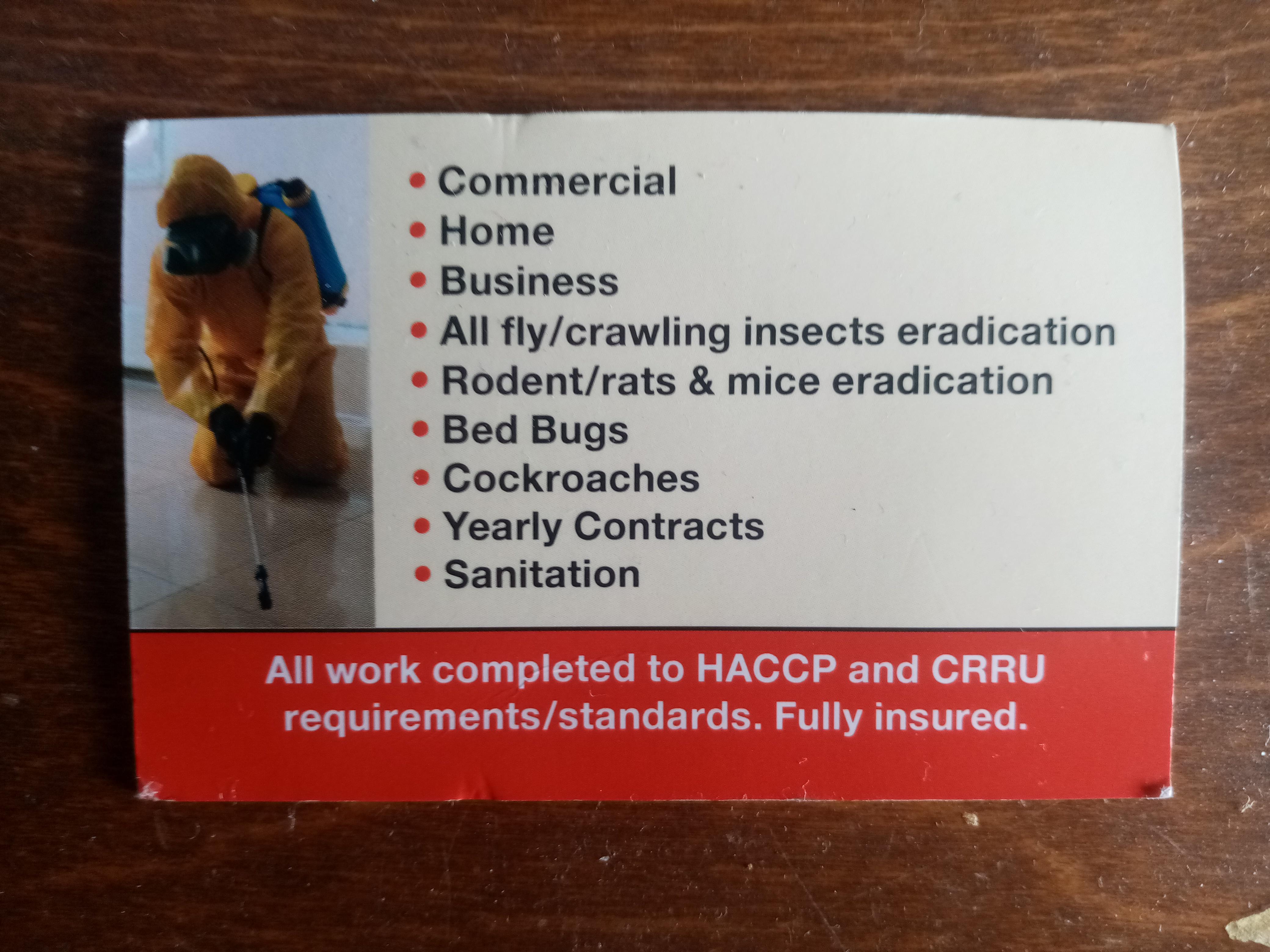 FEPC, fast effective pest control image 2