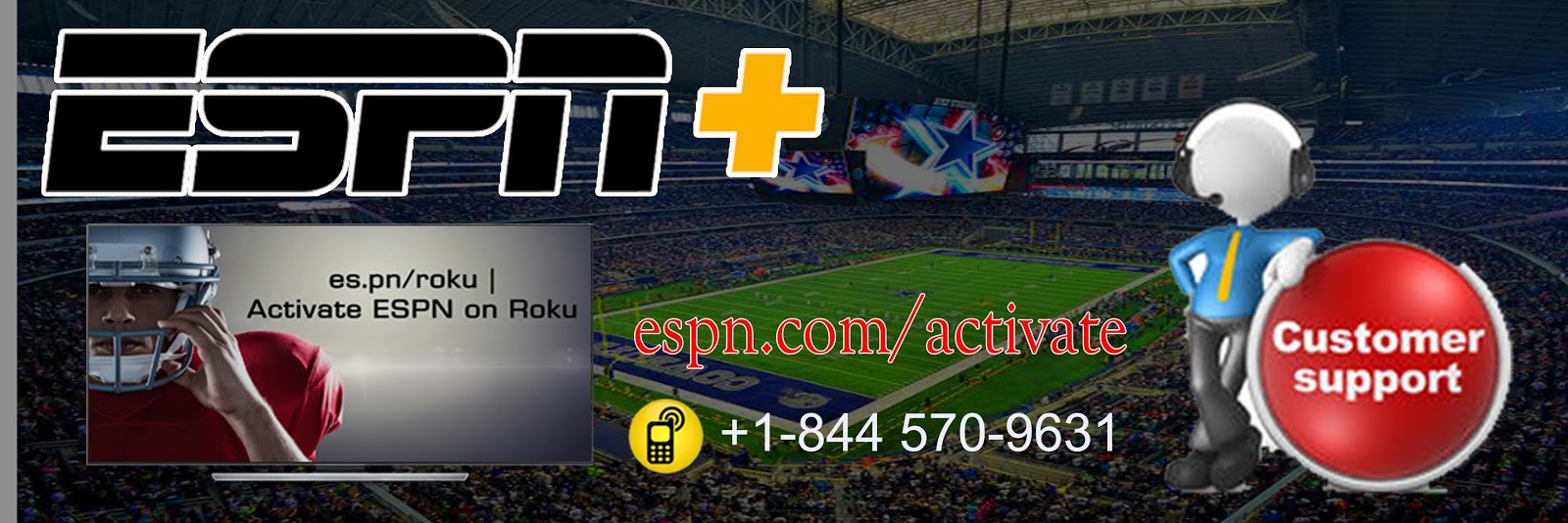 How To Activate Espn Channel On Roku | espn activate image 1