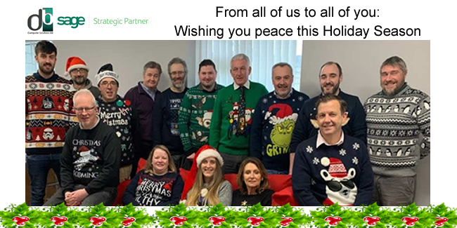 Wishing you Peace this Holiday Season from DB COMPUTER SOLUTIONS