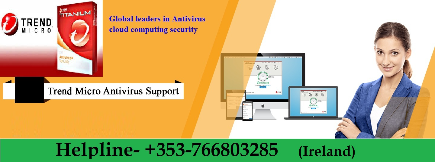 Get Instant Support from Trend Micro Help Number +353-766803285