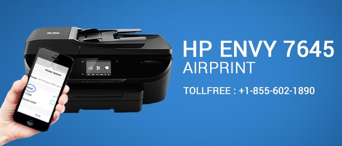 HP Envy 7645 Air Printer