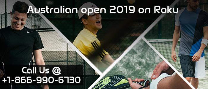 Australian open 2019 on Roku