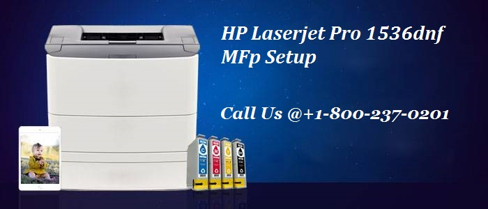 How to setup HP LaserJet 1536dnf printer?