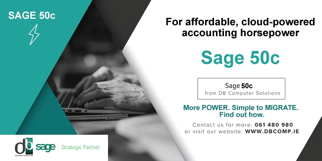 Sage 50c from DB Computer Solutions for Affordable Cloud-Powered Accounting
