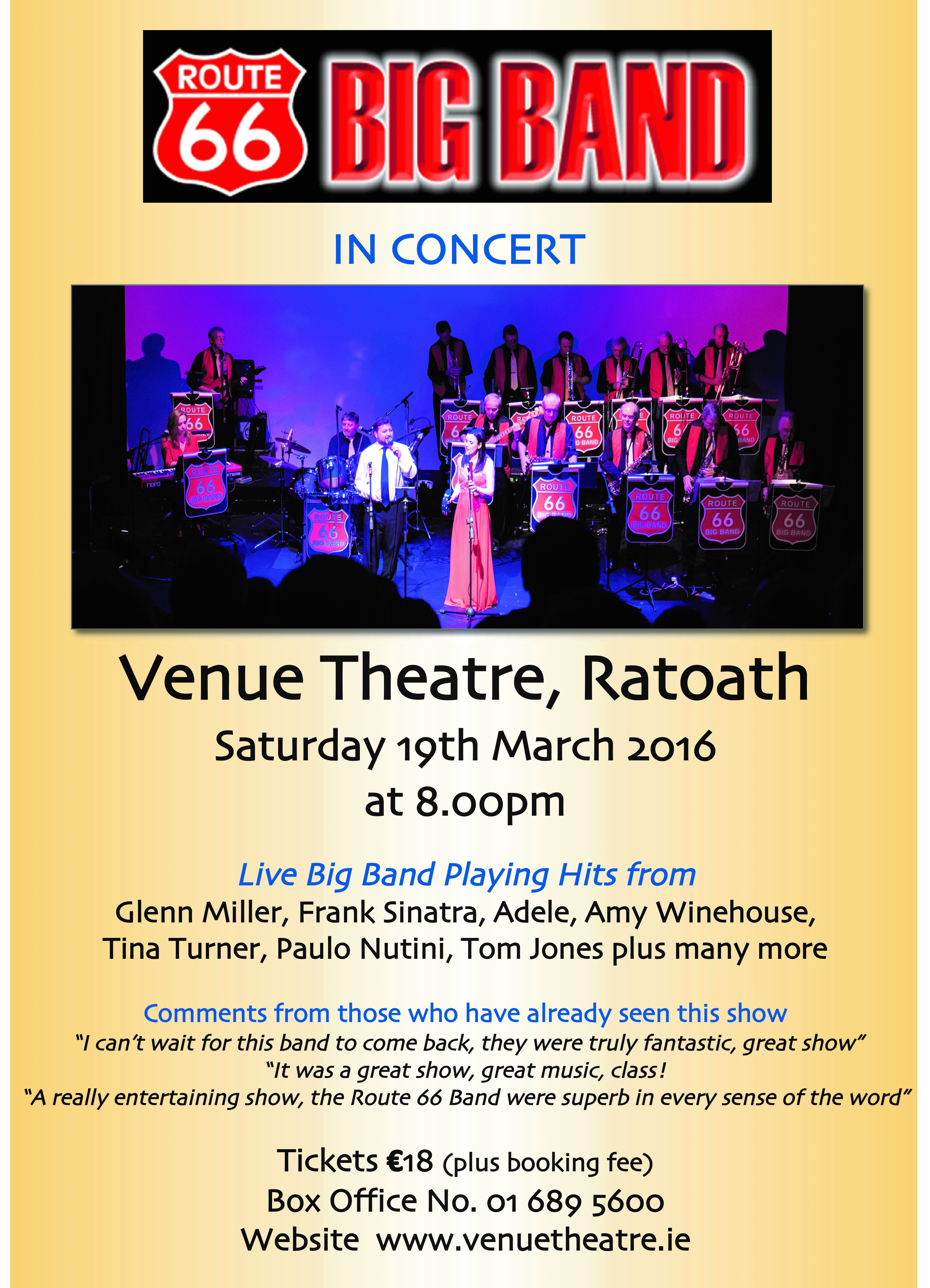 Route 66 Big Band Live In Concert Mytown Ie